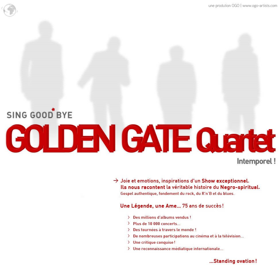 The Golden Gate Quartet - Spirituals